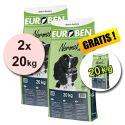 EUROBEN 25-10 Normal, 2 x 20kg + 20kg GRATIS