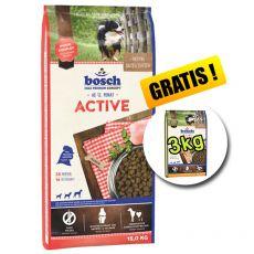 Bosch ACTIVE 15 kg + 3kg Adult Poultry and Millet 3 kg GRATIS