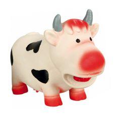 Zabawka dla psów - gumowa krówka, 19cm