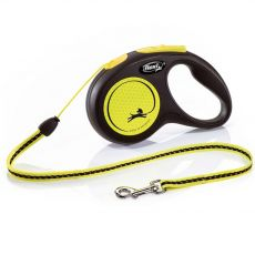 Flexi New Neon S smycz do 12kg - 5m linka