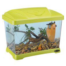 Plastikowe akwarium CAPRI JUNIOR GREEN 21L
