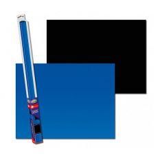 Tło do akwarium BLACK/BLUE S - 60 x 30cm