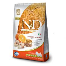 Farmina N&D dog LG ADULT MINI Codfish & Orange 7kg