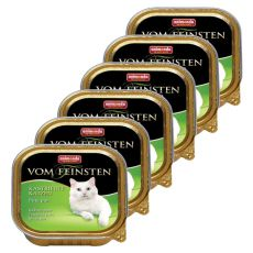 Animonda Vom Feinsten Castrated Cats - mięso z indyka, 6 x 100g