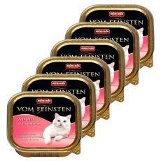 Animonda Vom Feinsten Adult Cats - z sercem z indyka 6 x 100g
