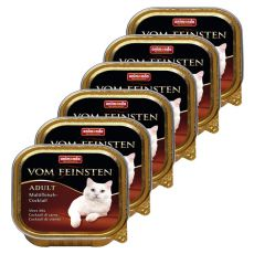 Animonda Vom Feinsten Adult Cats - multi koktajl z mięsa 6 x 100g.