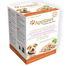 Saszetki APPLAWS dog SUPREME SELECTION 5x100g