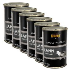 BELCANDO Single Protein - Lamb, 6 x 400g, 5+1 GRATIS