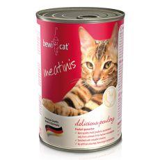 BEWI CAT Meatinis konserwa z drobiem, 400g