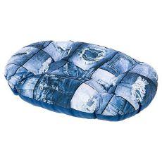 Wzorzysta poduszka Relax dla psów 65/6 C - owalna, 65 x 40cm