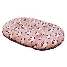 Wzorzysta poduszka RELAX C 78/8 dla psów - owalna, 78 x 50cm