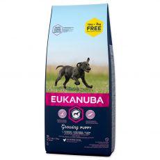 EUKANUBA PUPPY & JUNIOR Large Breed 15kg + 3kg ZA DARMO