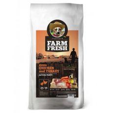 Farm Fresh Chicken and Turkey Active/Puppy GF 15kg