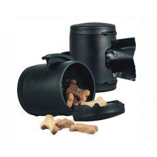 Flexi Multi Box czarny pojemnik + worki na odchody
