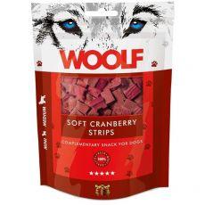WOOLF Soft Cranberry Strips 100g