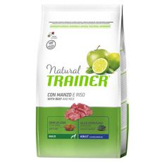 Trainer Natural Adult Maxi, wołowina i ryż 12kg