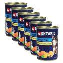 ONTARIO konzerv Multi Fish z olejem z łososia, 6 x 400g