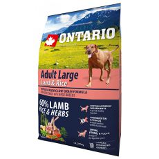 ONTARIO Adult Large - lamb & rice 2,25 kg