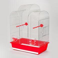 Klatka dla papug IZA I chrom - 45 x 28 x 61,5 cm