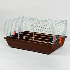Klatka dla królika i dla świnki morskiej - Rabbit 60 chrom