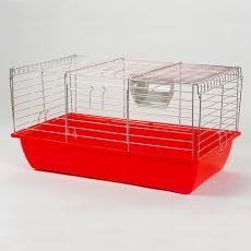 Klatka dla królika i dla świnki morskiej - Rabbit 70, chrom