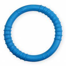 TPR Gumowy krążek z wypustkami - niebieski 9,5cm