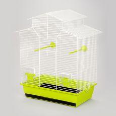 Klatka dla papug IZA II - 51 x 30 x 60,5 cm