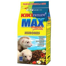 KIKI EXCELLENT MAX MENU - pokarm dla fretek, 800 g