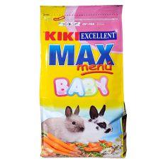 KIKI EXCELLENT MAX MENU BABY - pokarm dla młodych królików, 1 kg