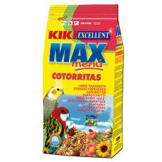 KIKI MAX MENU Cotorritas - pokarm dla nimf i papużek nierozłączek 1kg