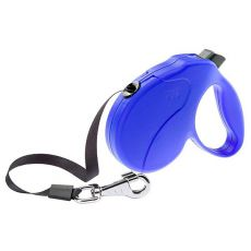 Smycz Amigo Easy Medium do 25kg - 5m, niebieska