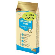 EMINENT GOLD Puppy Large Breed 15kg + 3kg GRATIS