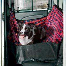 Pokrowiec do auta dla psów - 140 x 60 x 50 cm