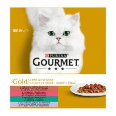 Konserwa GOURMET GOLD - kawałki w sosie, 8 x 85g