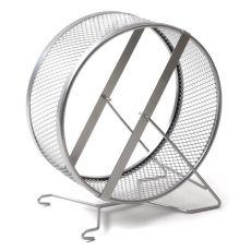 Metalowy kołowrotek dla gryzoni, sito 20 cm