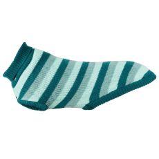 Sweter Trixie Burnaby turkusowo-miętowy, XS 25 cm
