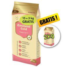 EMINENT GOLD Puppy 15kg + 3kg + 2kg GRATIS