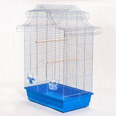 Klatka dla papug - AMADINA chrom - 61,5 x 41,5 x 85,5 cm