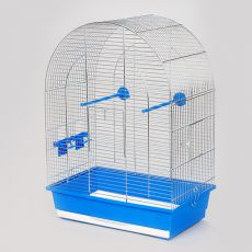 Klatka dla papug - LUSI II chrom - 45 x 28 x 63 cm