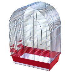 Klatka dla papug, LUSI III chrom - 54 x 34 x 75 cm