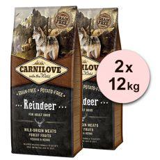 Brit CARNILOVE Reindeer Adult 2 x 12 kg