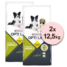Versele Laga Opti Life Adult Medium 2 x 12,5kg