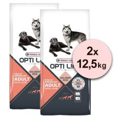 Versele Laga Opti Life Adult Skin Care Medium & Maxi 2 x 12,5kg