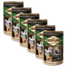 BRIT Carnilove Wild Meat Duck & Pheasant 6 x 400 g
