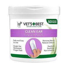 Chusteczki czyszczące uszy psa VET´S BEST, 50 szt.