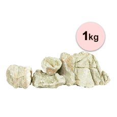 Kamień do akwarium Grey Luohan Stone S do akwarium - 1kg