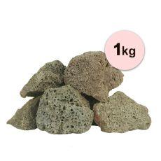 Kamienie wulkaniczne Black Volcano Stone S do akwarium - 1kg