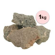 Kamienie wulkaniczne Black Volcano Stone M do akwarium - 1kg