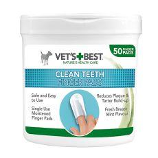 Chusteczki czyszczące zęby psa VET´S BEST, 50 szt.