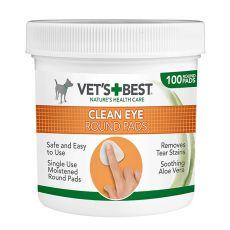 Chusteczki czyszczące oczy psa VET´S BEST, 100 szt.
